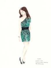 Clara's Club Dress